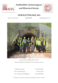 Newsletter 116 May 2014